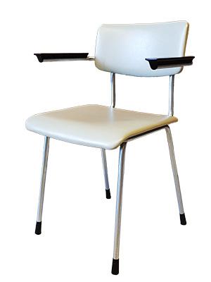 Originele Gispen Bureaustoel.Gispen Stoel Met Armleuningen Model 1235 55concept
